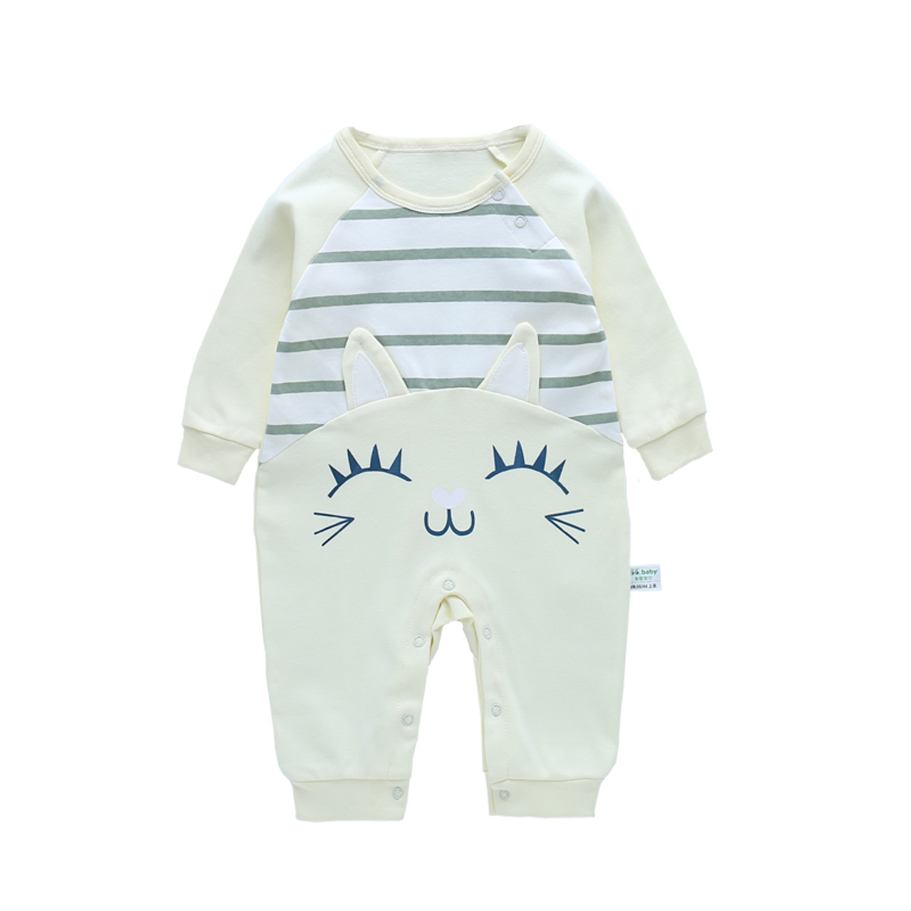 b0f926c4bc8c Infant New Born Baby Boy Rompers Baby Girl Rompers Clothes Overalls ...