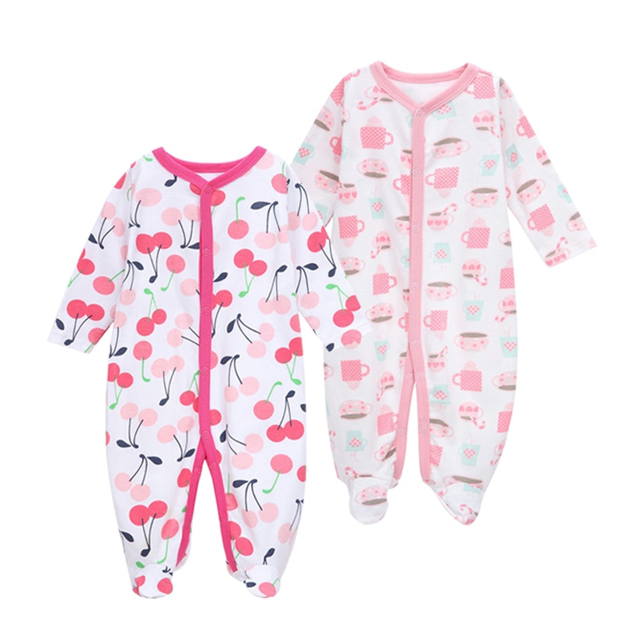 4aafdf728065 ... 2018 New Baby Clothing Newborn Baby Boy Girl Romper Baby Clothes Long  Sleeve Infant Product 2 ...