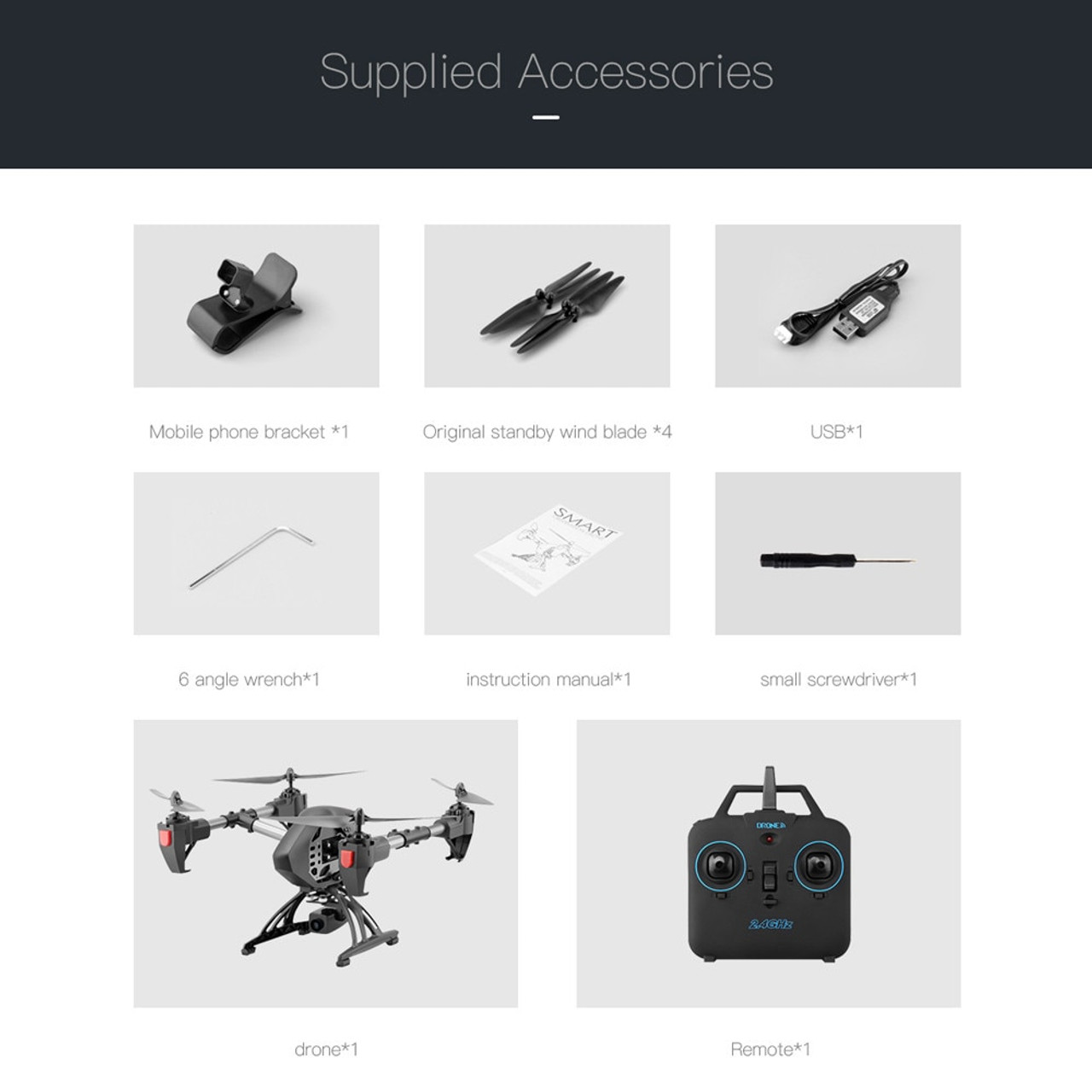 JD-11 Selfie Drone With Camera HD 2MP Long Flying 2 4G WiFi FPV Remote  Control Quadcopter Aircraft 6-Axis Drone RC Helicopter