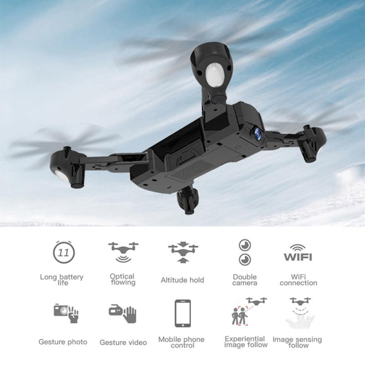 SG900 Foldable Quadcopter 2 4GHz 720P/1080P HD Drone Quadcopter WIFI FPV  Drones Rc Helicopter Drone With Camera