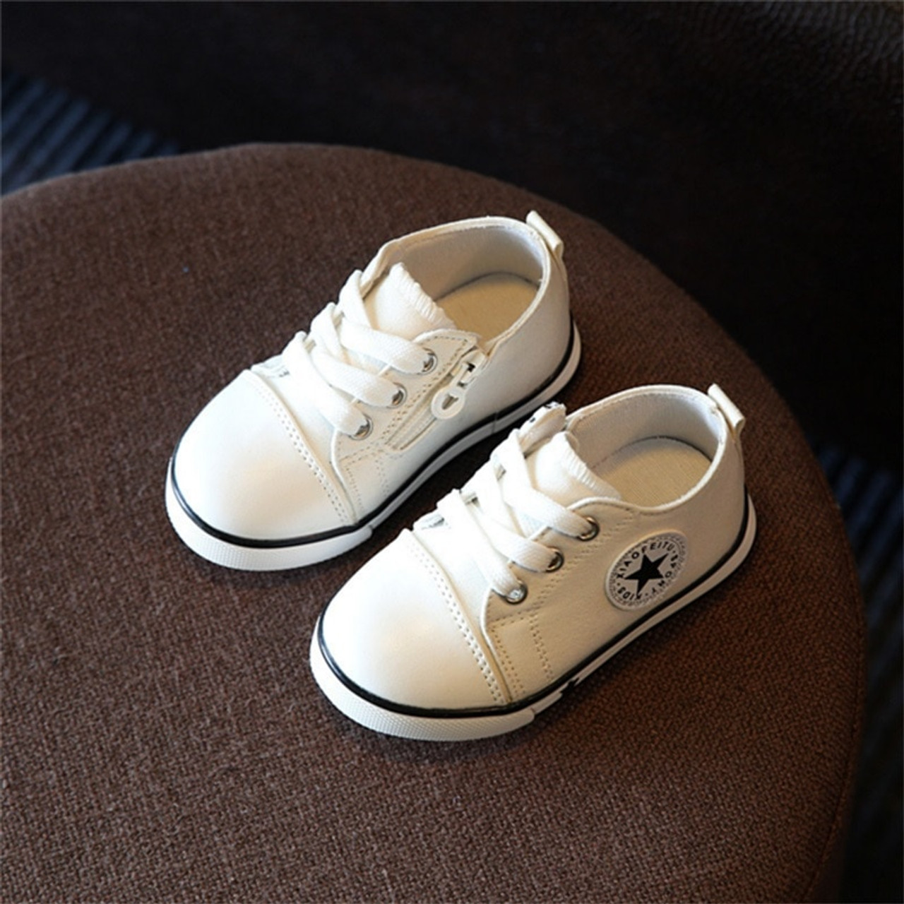 New Baby Shoes Breathable Canvas Shoes