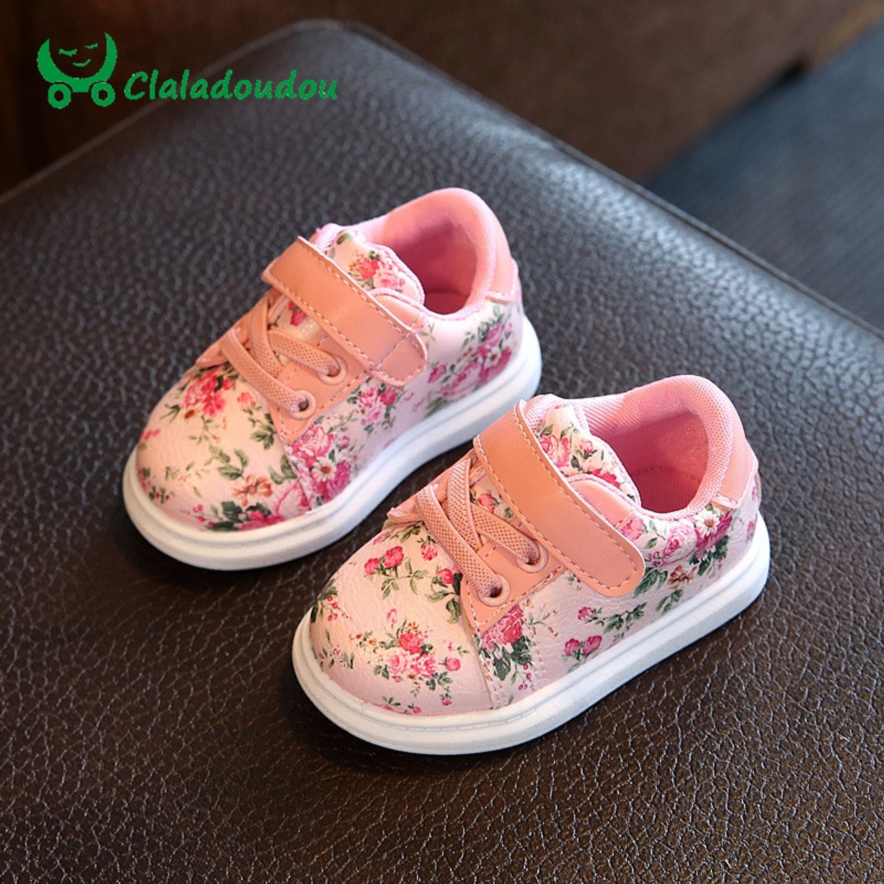0-3Y Baby Shoes For Girls Soft Black