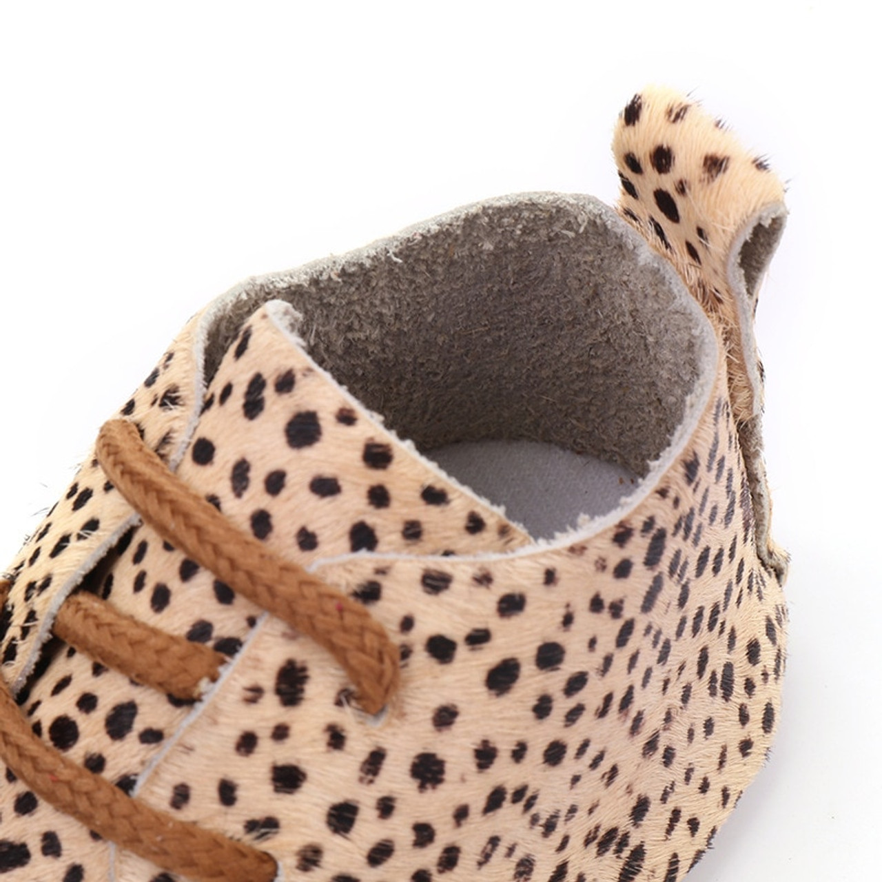 Genuine Leather Baby shoes Leopard