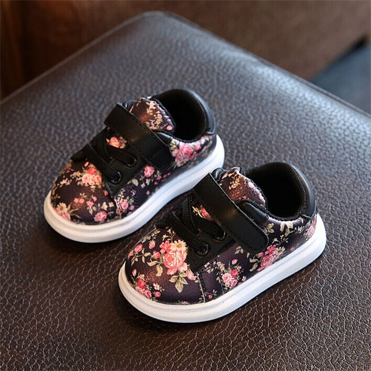 DIMI 2018 Cute Flower Baby Girls Shoes