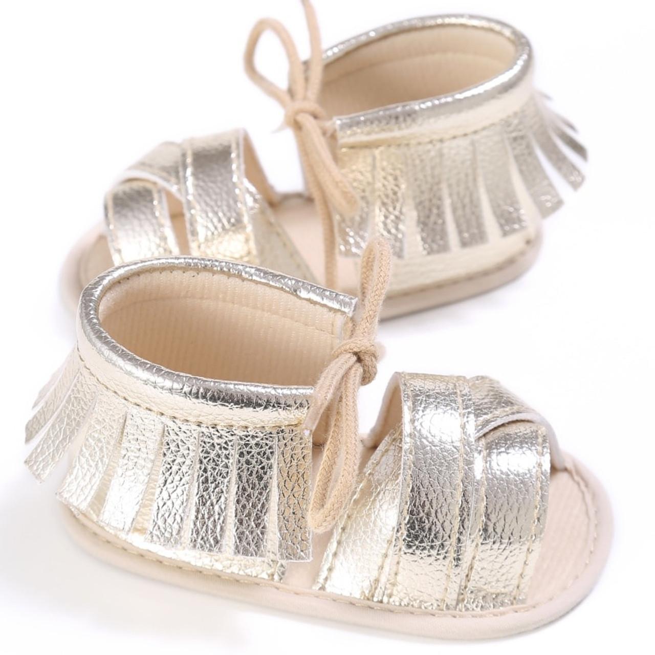 Summer Tassel Baby Shoes Soft Non-slip