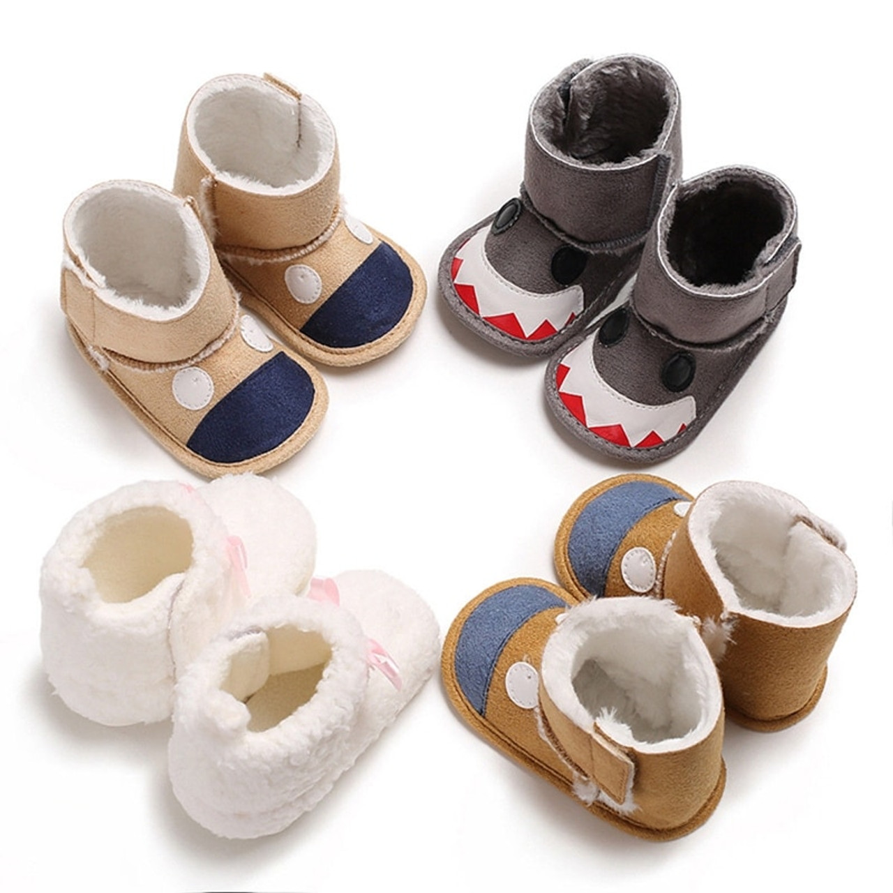 Christmas Shoes For Girls.Kids Baby Boys And Girls Xmas Christmas Boots Winter Warm Indoor Slip On Shoes Casual Cute