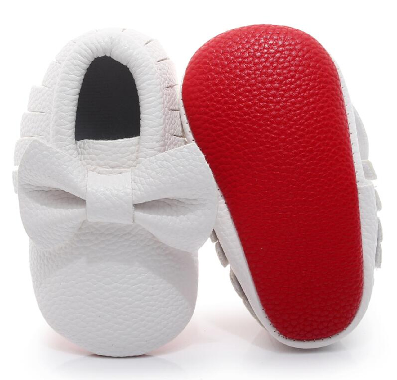 c83db252da97 ... New Red sole PU Leather Newborn Baby Boy Girl Baby Moccasins Soft Moccs Shoes  Bebe Fringe ...