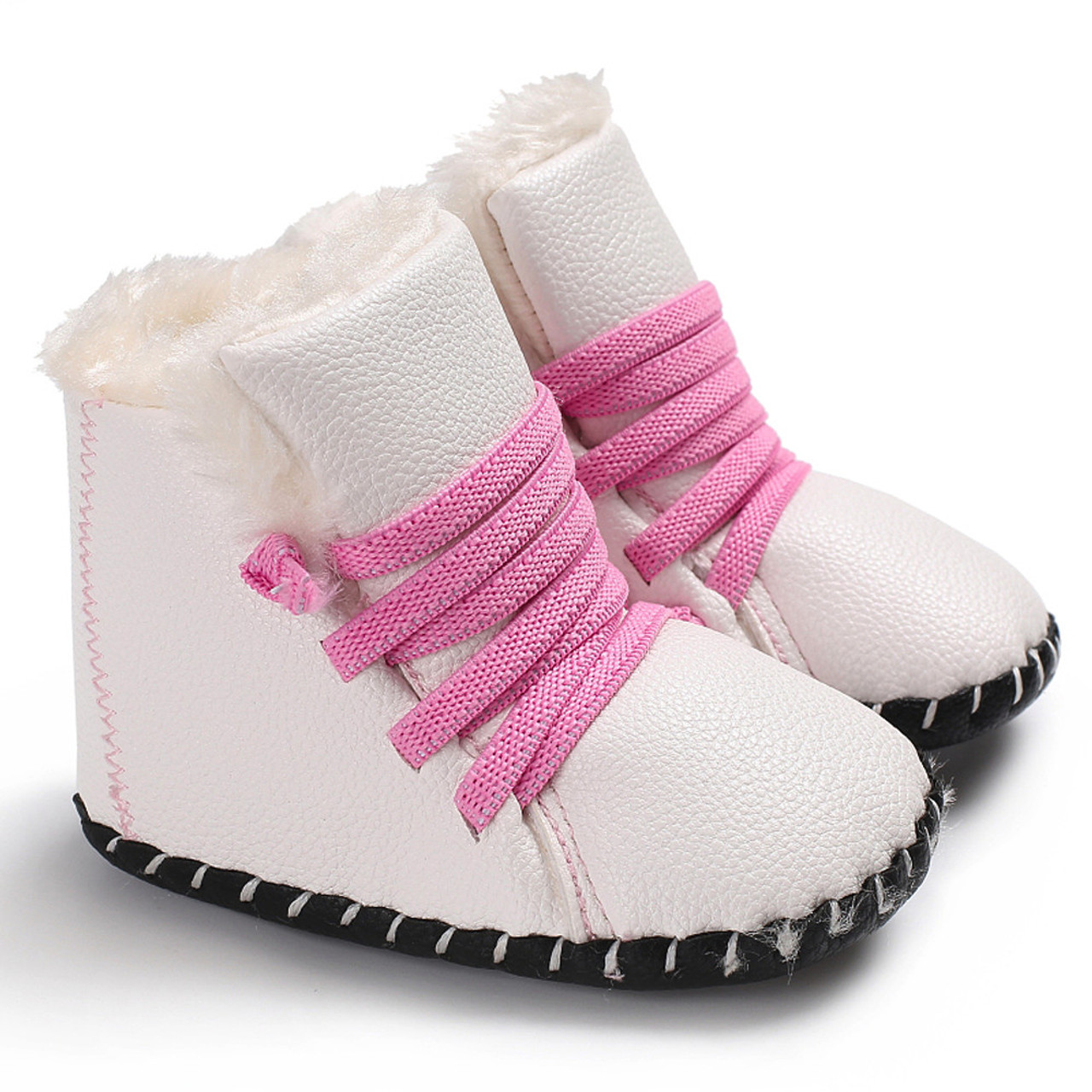 Arloneet Baby Shoes Girl Boy Soft Canvas Sneaker Soft Sole Crib Comfortable Waliking Shoes As The Gift To Baby Baby Shoes