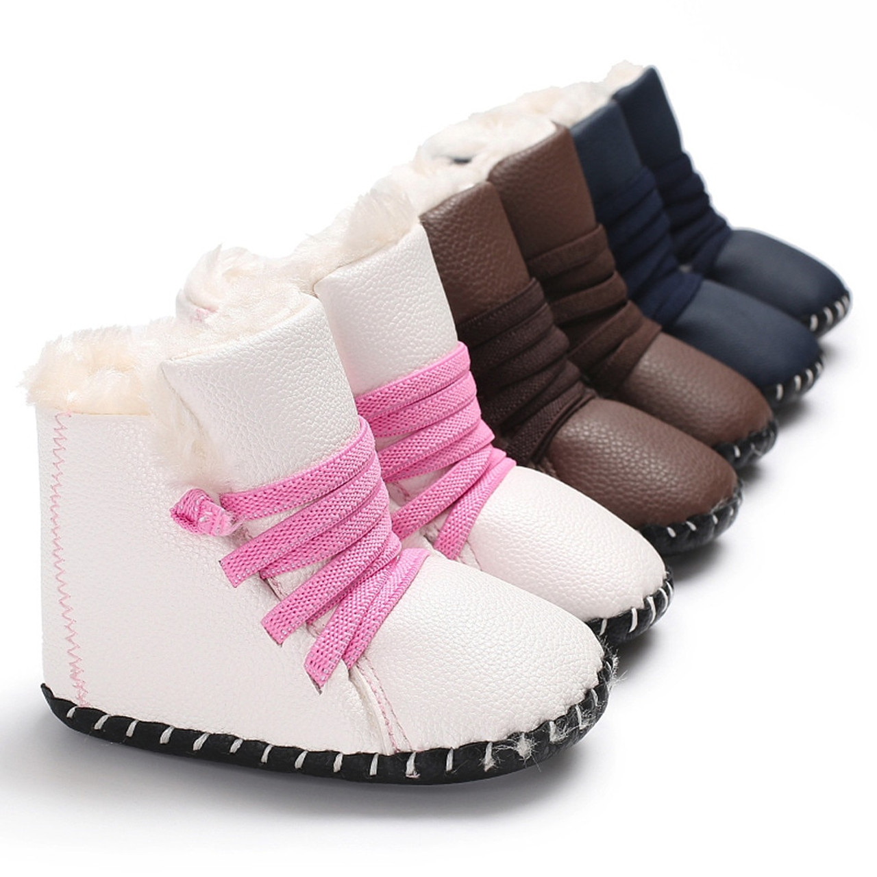 806533b88639f ... ARLONEET Girl Toddler Shoes Baby kids Fashion Snow Boot Girl Boy Soft  Sole Booties Infant Toddler ...