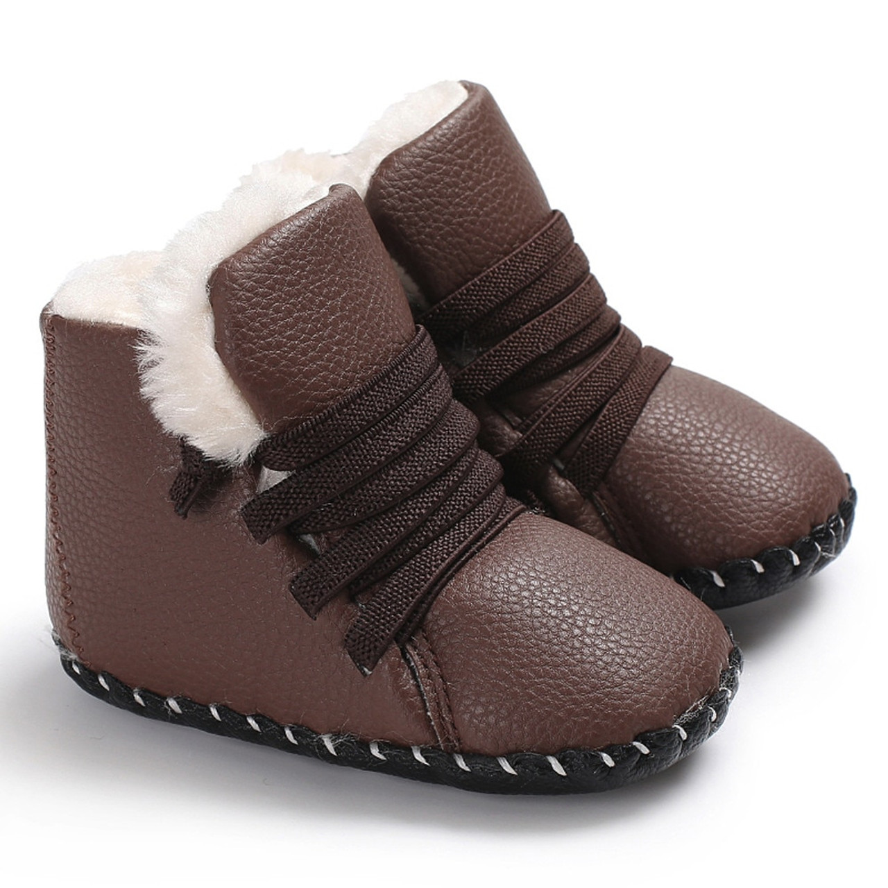Infant Baby Girls Comfy Shoes Sole Bowknot Print Anti-slip Casual Crib Shoes
