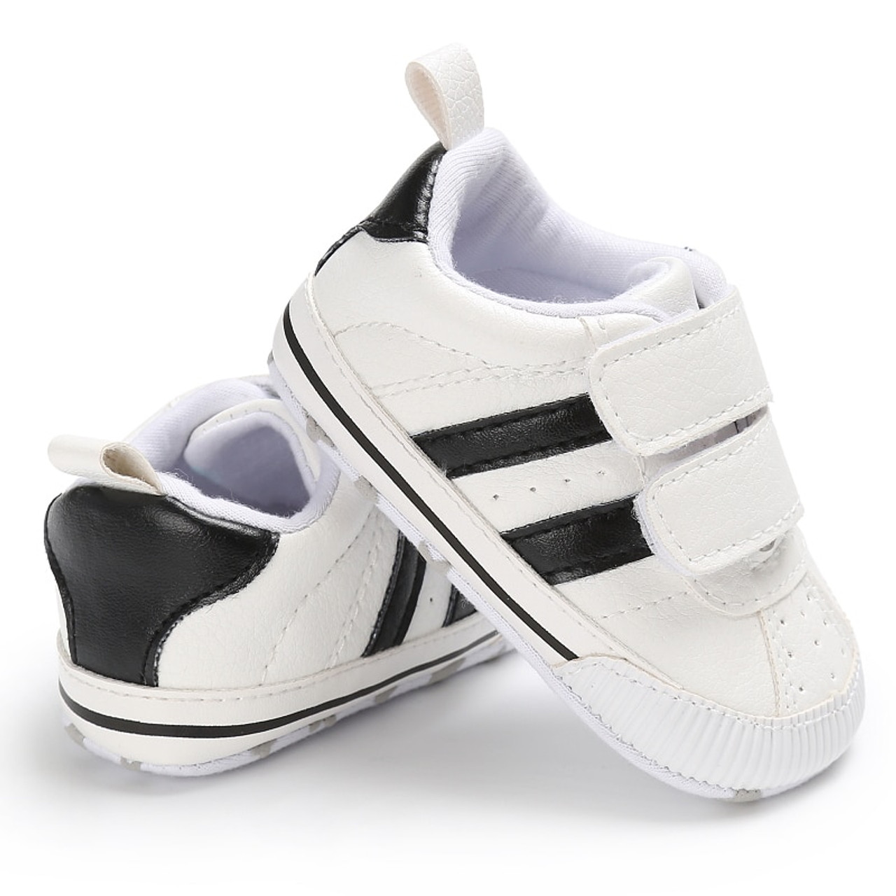 0e3d32fe040 2019 Newborn Baby Boys Girls Soft Sole Prewalker Shoes Infant Toddler  Sneaker Shoes for 0- ...