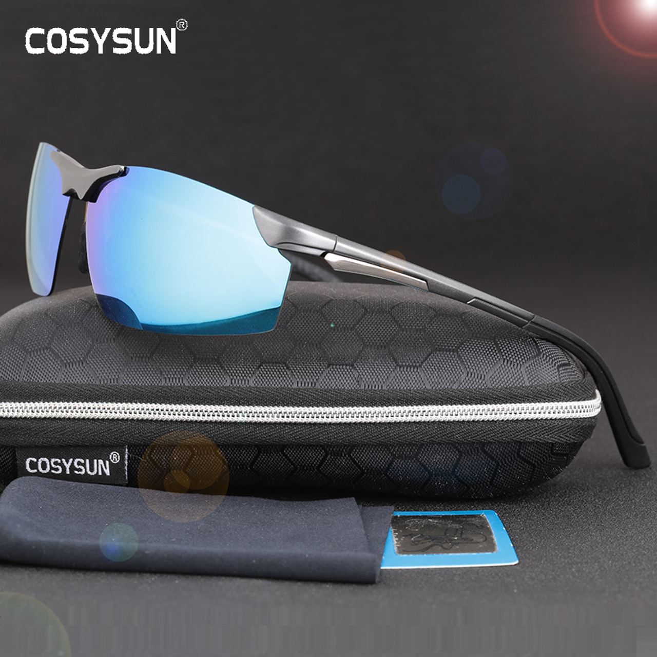 89435498c7d 2017 New Arrival Aluminum Magnesium Men s Sunglasses Square Polarized  Driving Sun Glasses oculos Male Eyewear Accessories ...