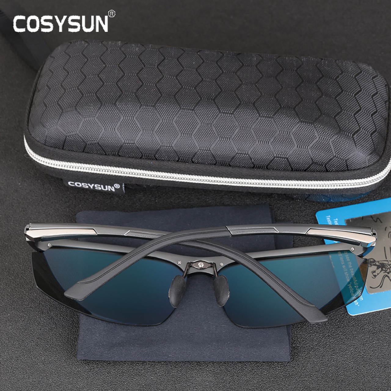 42f57b60b8f ... 2017 New Arrival Aluminum Magnesium Men s Sunglasses Square Polarized  Driving Sun Glasses oculos Male Eyewear Accessories ...