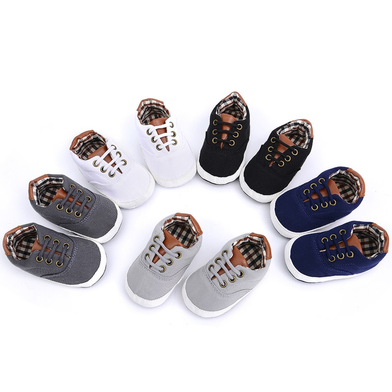 Newborn Baby Boys Kids Shoes Fashion Infant Toddler First Walkers Handsome  Bebe British Style Soft Soled ... 7fc26f3801f4