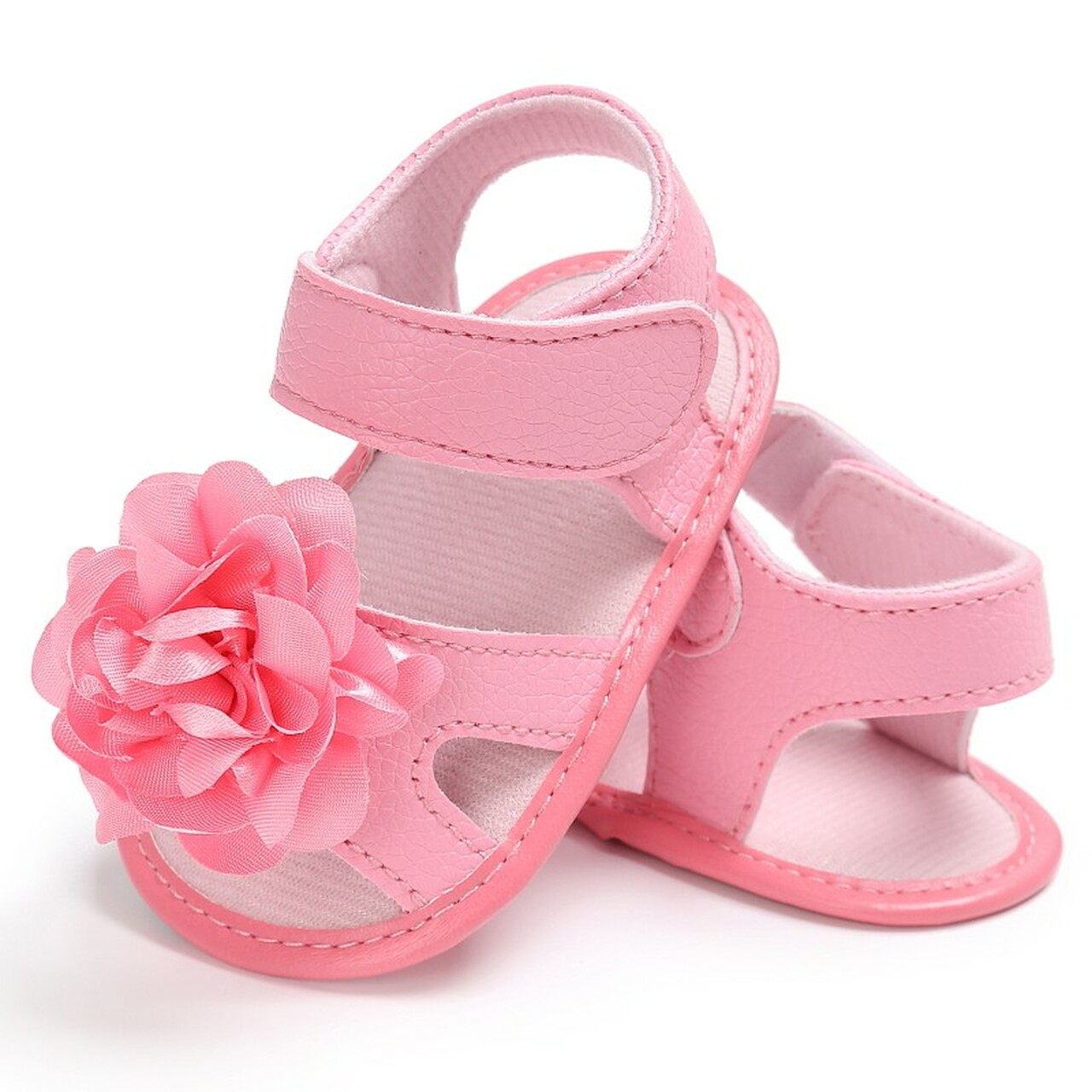 Baby Shoes First Walkers Sweet Baby Girls Princess Polka Dot Big Bow Infant Toddler Ballet Dress Soft Soled Anti-slip Shoes Footwear