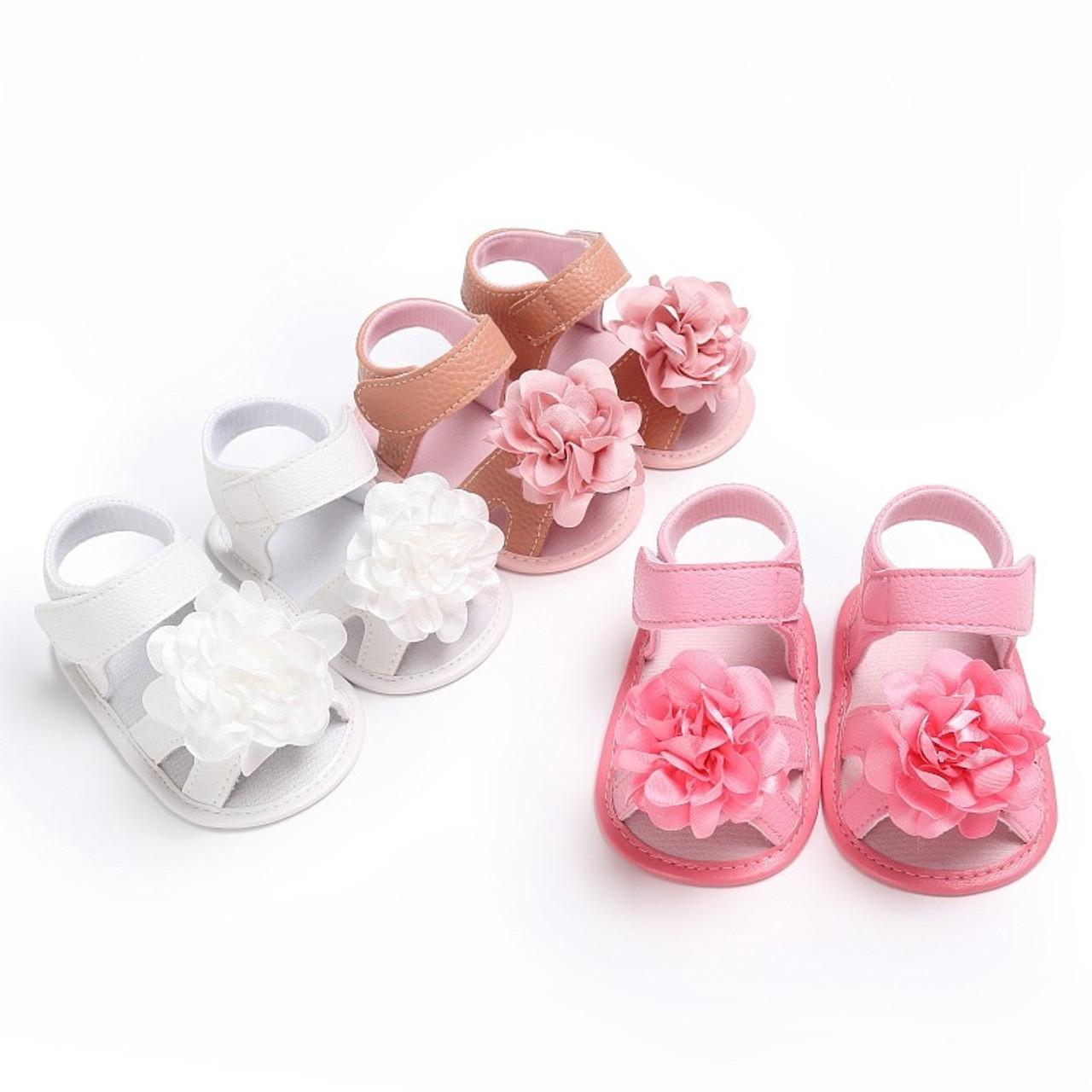 Sweet Baby Girls Princess Polka Dot Big Bow Infant Toddler Ballet Dress Soft Soled Anti-slip Shoes Footwear Prewalkers New Baby Shoes Mother & Kids