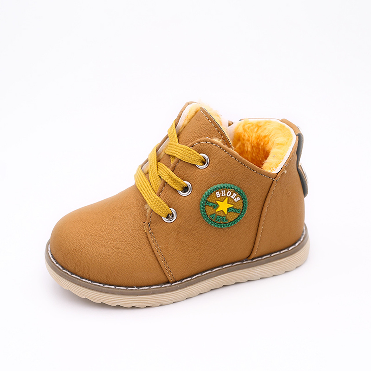 9e0c444a3b ... Top Selling Kids Boys Shoes Classic Boys Martin Boots Winter Warm Sport  Casual Baby Girls Shoes ...