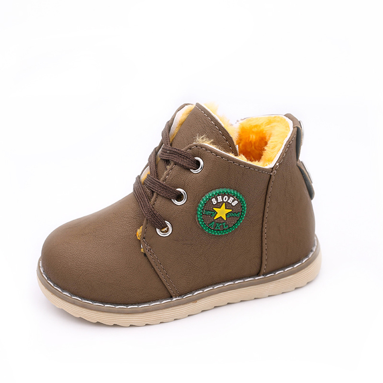New Classic Chilren Girls Boys Martin Boots Kids Unisex Winter Warm Boots Shoes
