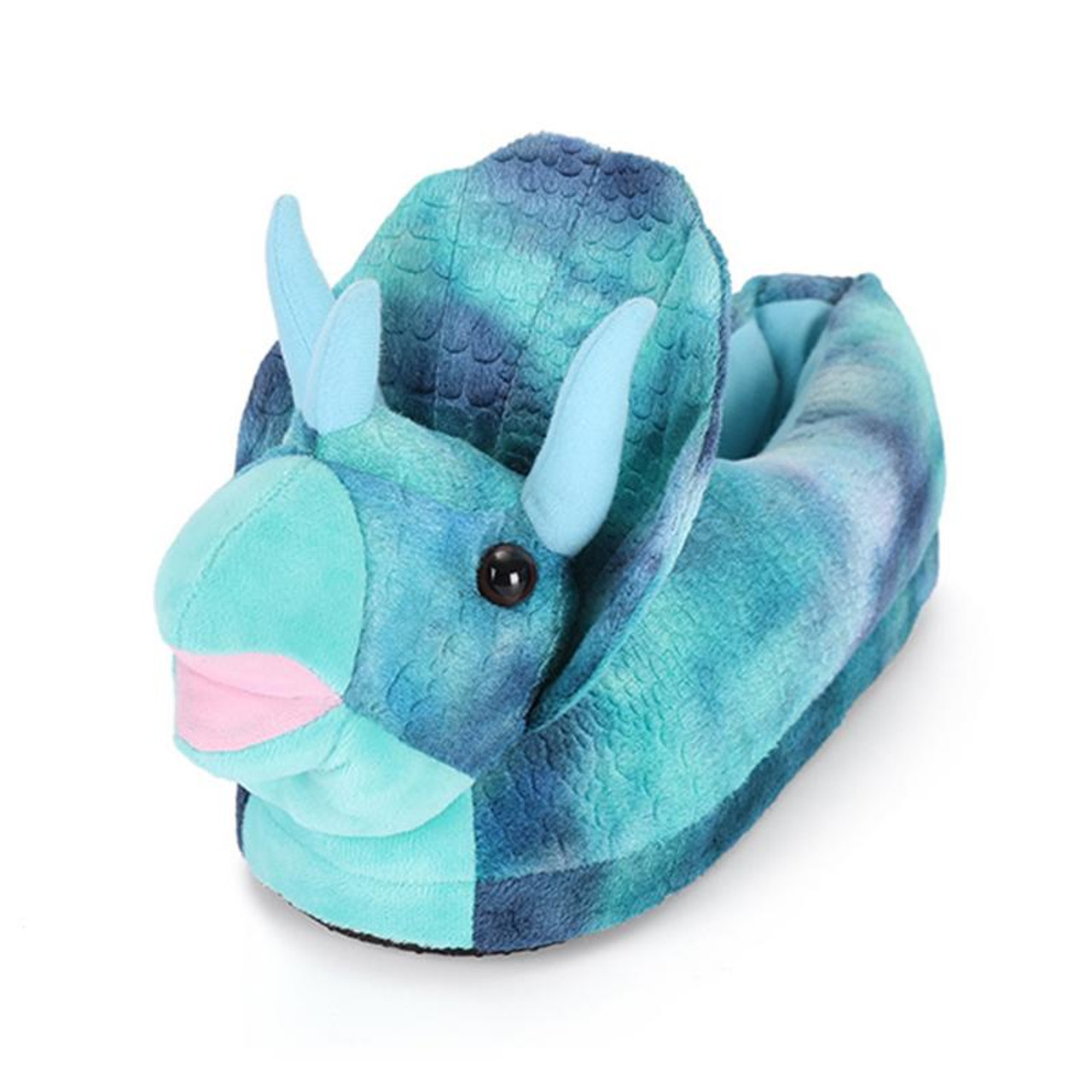 323b1c4cd3d Children Cotton Shoes Kids Home Slippers Boys And Girls Baby Cute animal  dinosaur Plush Ball Thickening ...