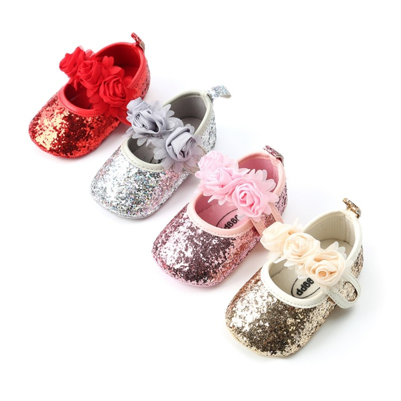 af3f7e8937b76 2018 Baby Shoes PU leather infant baby moccains soft sloe toddler girls  shoes mary jane party shoes first walkers Floral