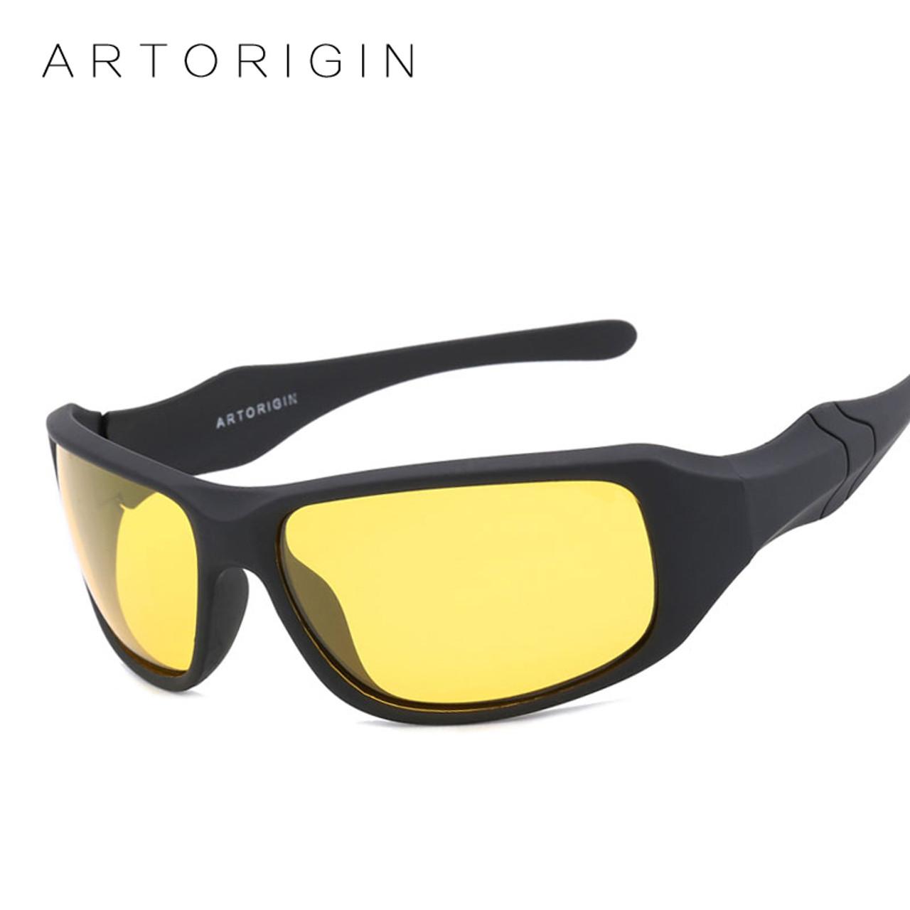 9febf88bf8 ARTORIGIN Polarized Sunglasses Men Women Night Vision Goggles Driving  Glasses Anti Glare Safety Sunglass With Box ...
