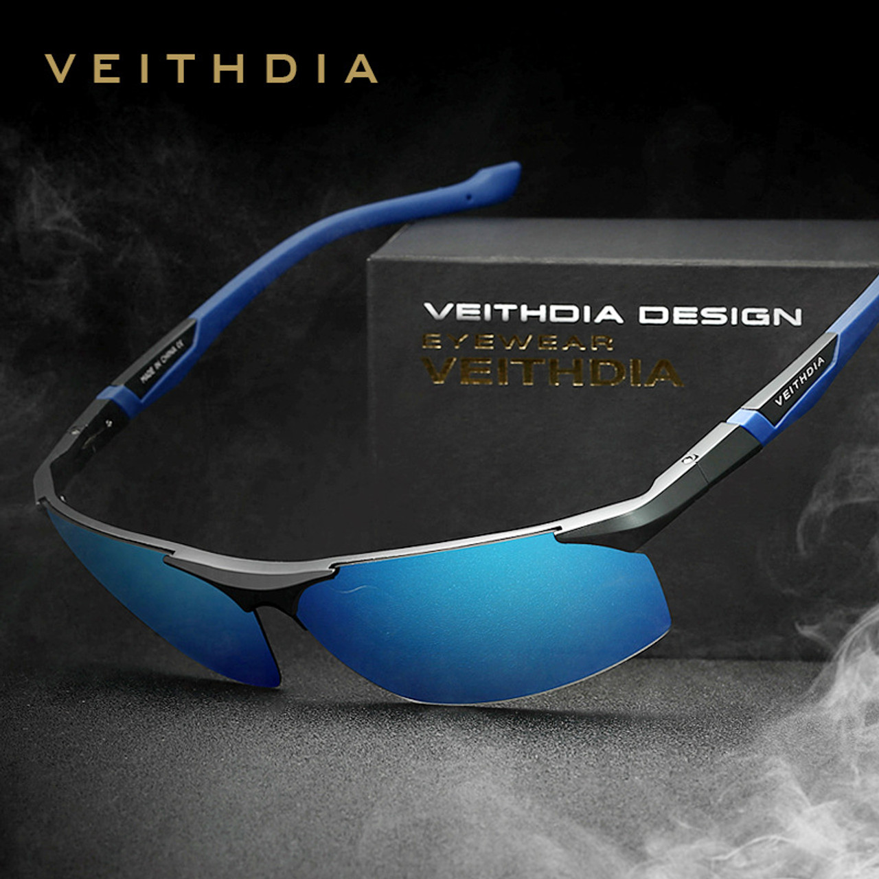 a690fcd085 VEITHDIA Polarized Sunglasses Men New Arrival Brand Designer Sun Glasses  With Original Box gafas oculos de ...
