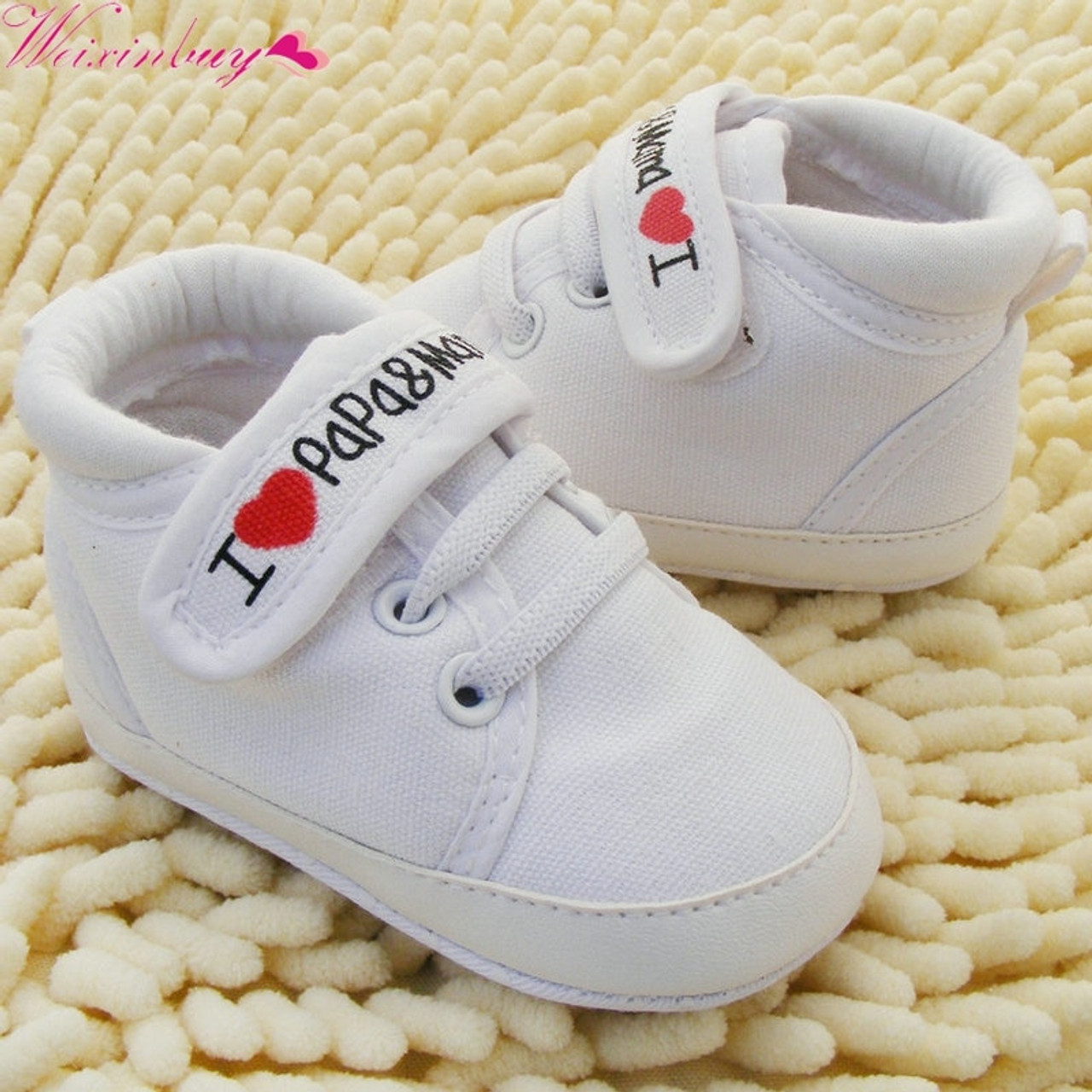 6ac7e8bd32f1 ... Toddler Newborn Shoes Baby Infant Kids Boy Girl Soft Sole Canvas Sneaker  0-18Months ...