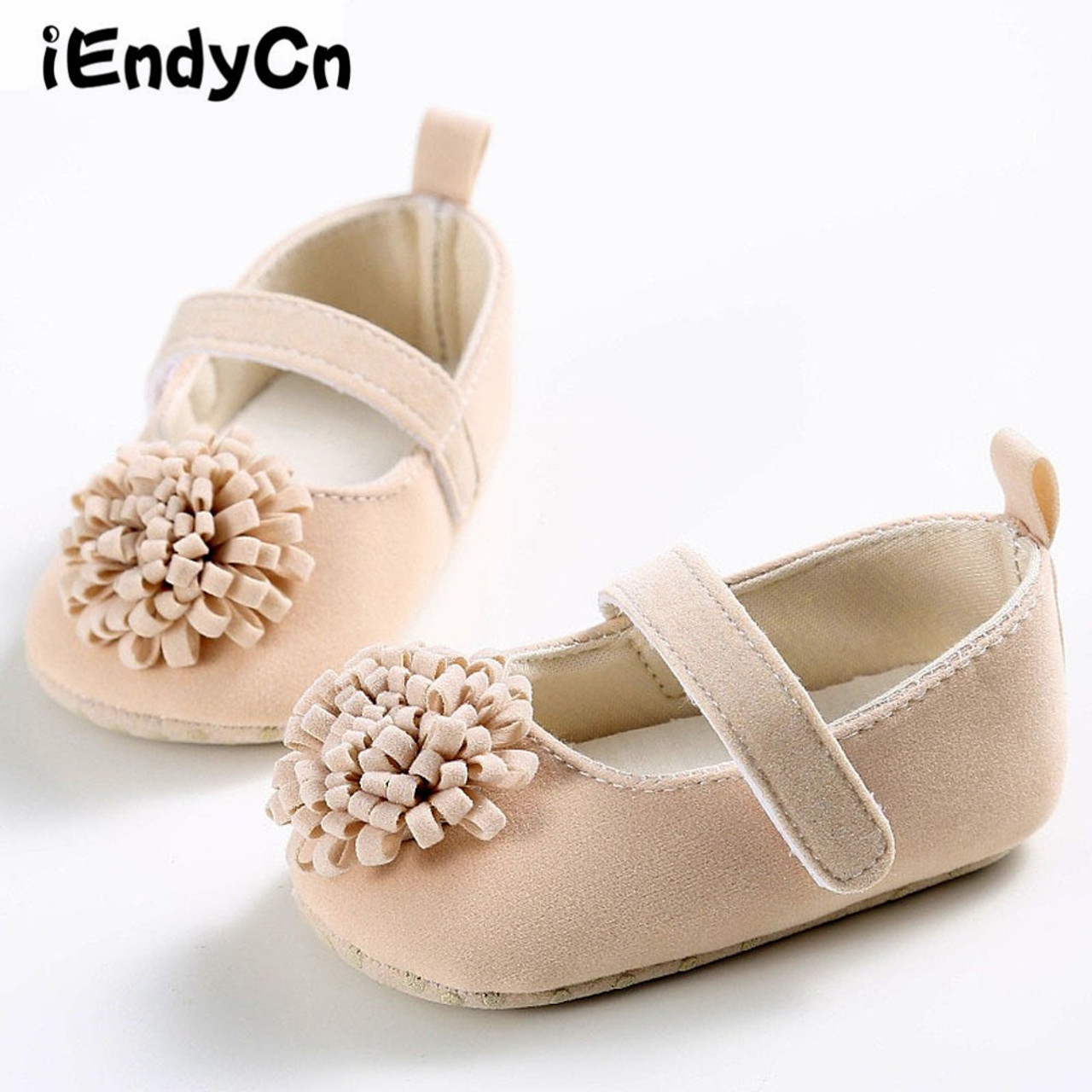 f2d0ecd53d434 Baby Girl Crib Shoes 0-1 Year old Summer Baby Girl Shoes Newborn Soft  Bottom Flowers Princess Series Baby Shoes YD221R