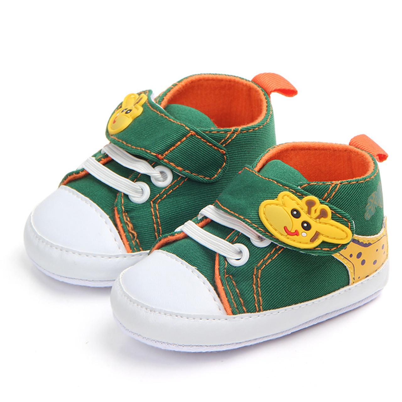 0-12M canvas baby shoes boys soft sole