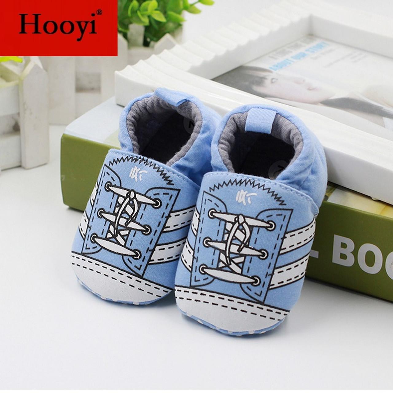 66eac06f9bbec ... Giraffe Hooyi Baby Boy Shoes Anti-Slip Newborn Shoe Cotton Children  Sneakers Toddler First Walkers ...