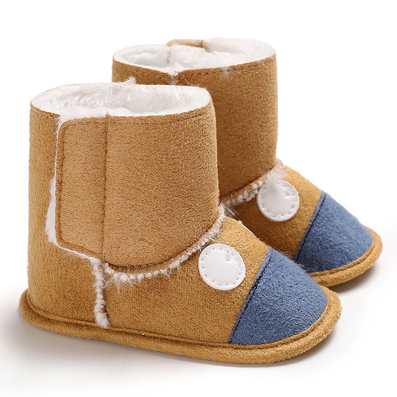 Winter Newborn Baby Boys Girls Booties Slippers Infant Soft Anti