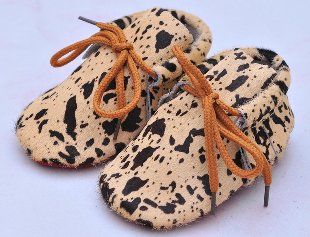 3c6291f84ad4 20colors New Genuine Leather Baby Moccasins Shoes lace up leopard red  bottom sole Baby Shoes Newborn ...