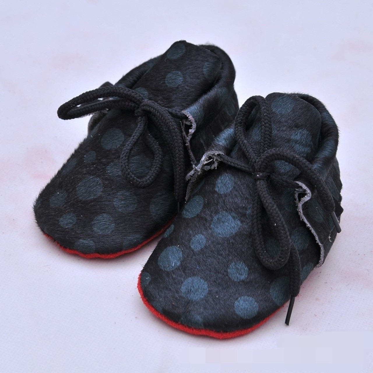 6c8a523af1e3 ... 20colors New Genuine Leather Baby Moccasins Shoes lace up leopard red  bottom sole Baby Shoes Newborn ...