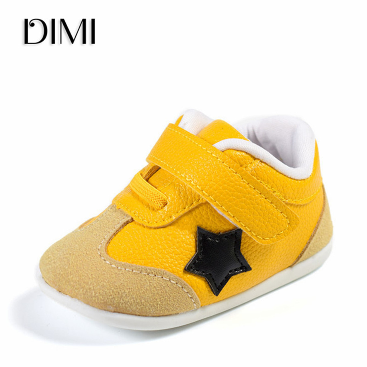 Child Baby Boy Girl Sneakers Solid Color Anti Slip Toddler Winter Fluffy Shoes