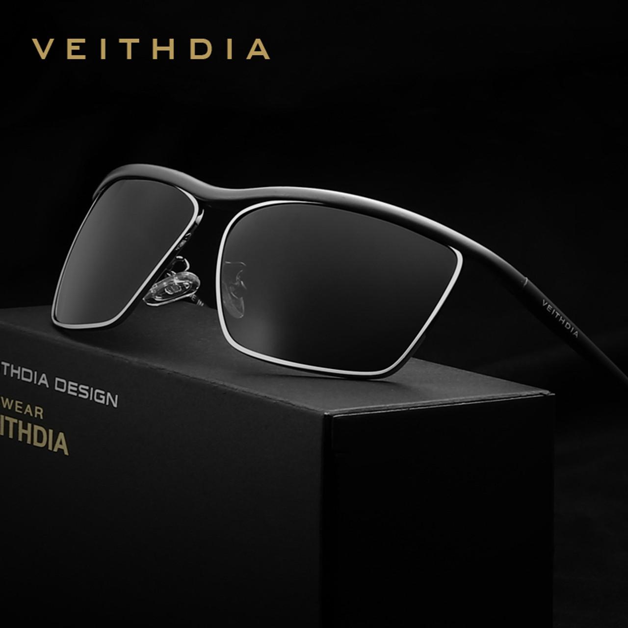 cf027c7bb1 VEITHDIA Brand Aluminum Magnesium Men s Sun glasses Polarized Mirror Lens  Eyewear Accessories Sunglasses For Men Oculos ...