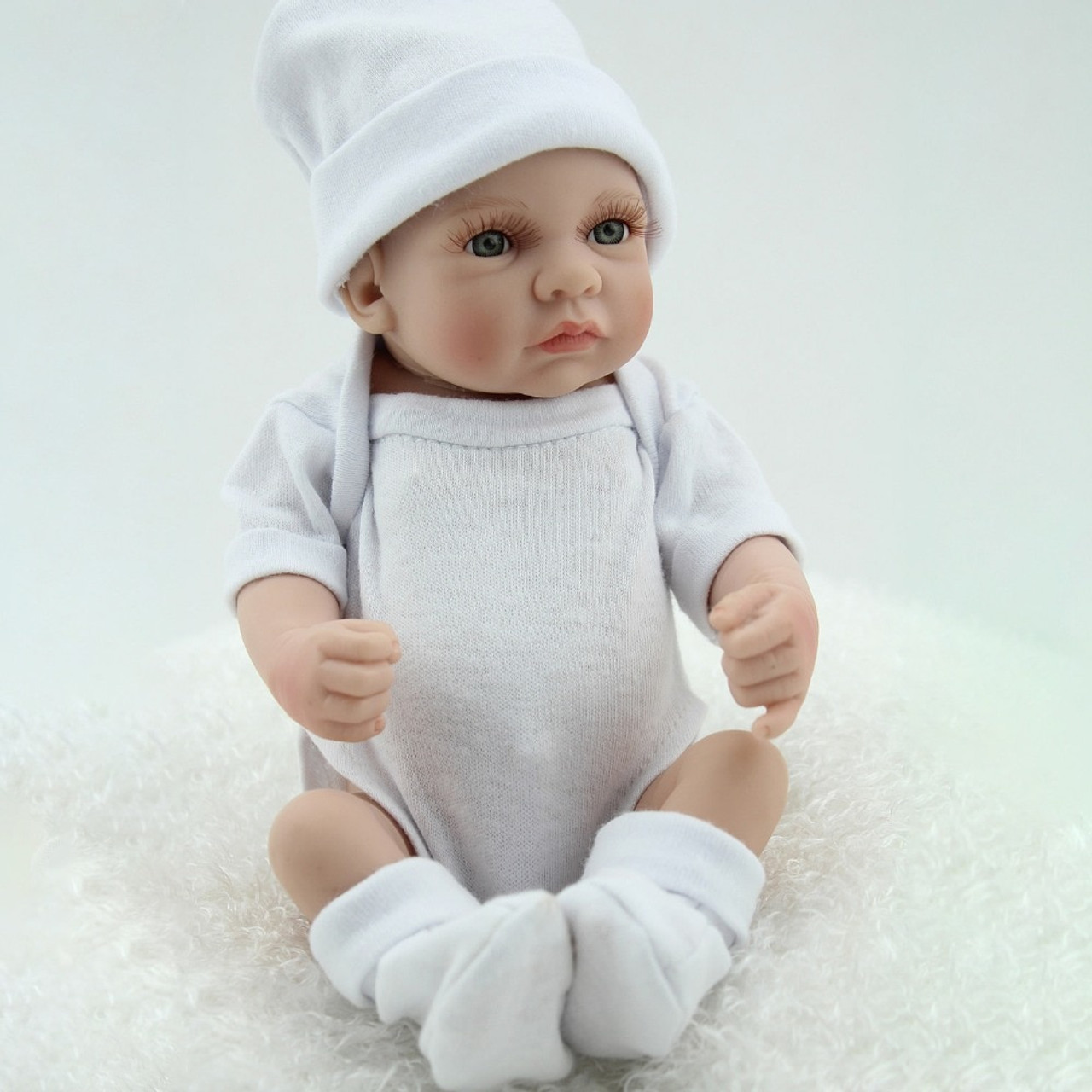 22/'/' Realistic Reborn Boy Doll Look Real Newborn Baby Dolls Adorable Playmates