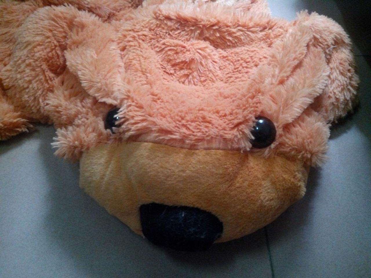 60CM to 200CM cheap giant unstuffed empty teddy bear bearskin coat soft big