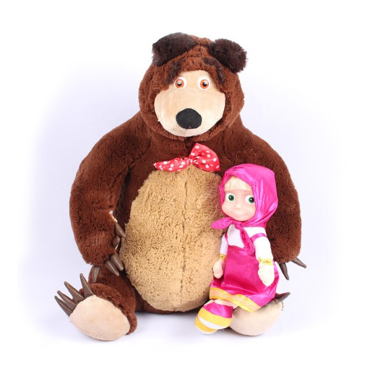 Russian Musical Masha Dolls Bear Plush Stuffed Toys And The Brand Educational For Boys Girls Birthday Christmas New Year Gifts