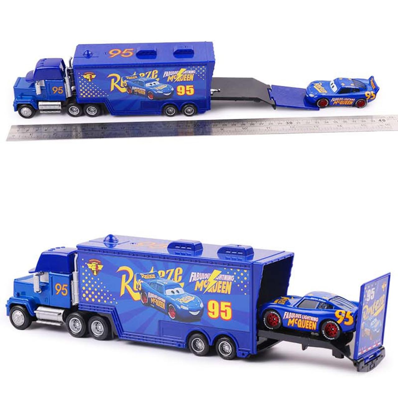Disney Pixar Cars 2 3 Toys Lightning Mcqueen Jackson Storm Mack Uncle Truck 1 55 Diecast Model Car Toy Children Birthday Gift Onshopdeals Com