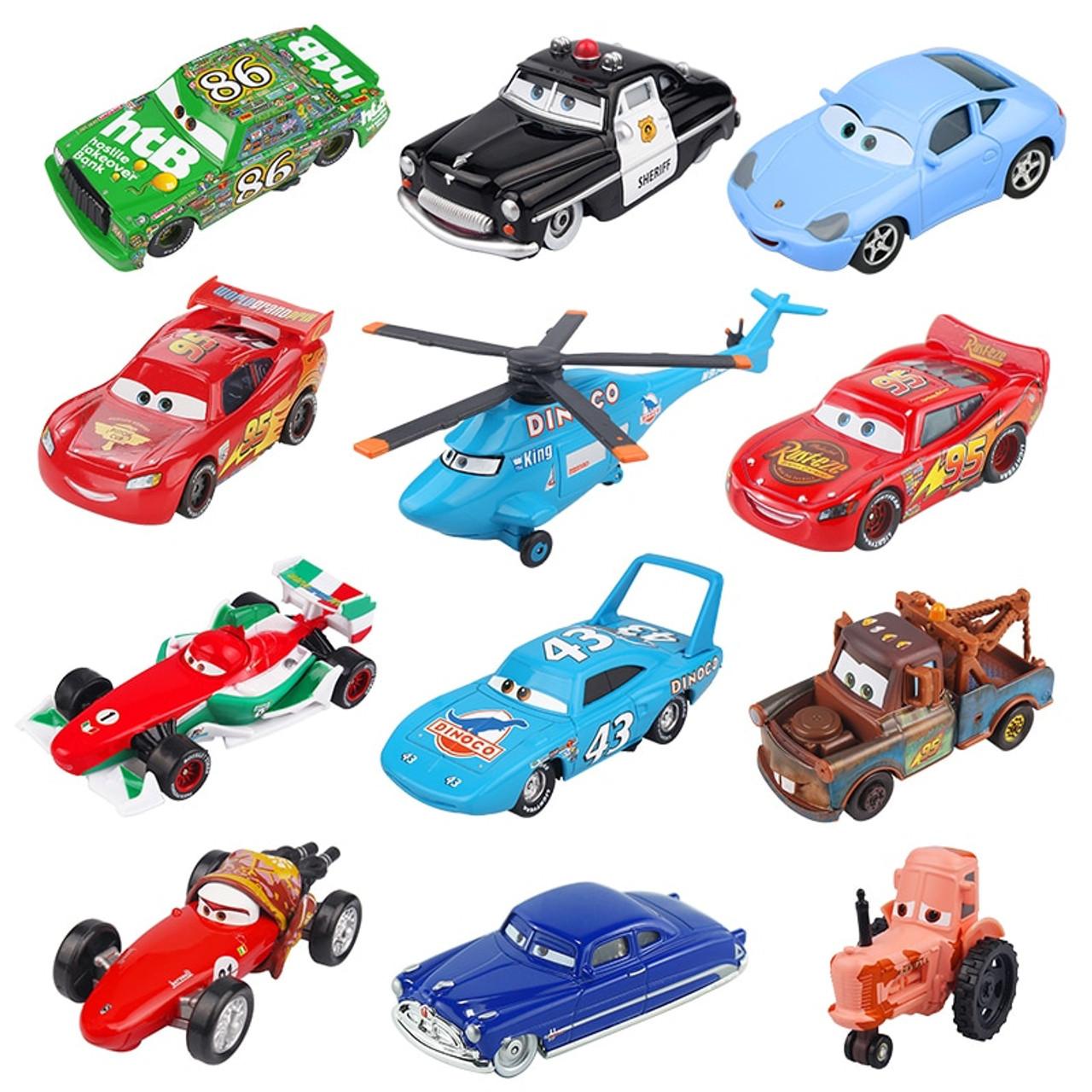 Disney Pixar Cars 2 3 Lightning McQueen Jackson Storm Doc Hudson Mater 1 55  Diecast Metal Alloy Model Car Birthday Gift Boy Toys - OnshopDeals.Com fa35ada1bea4