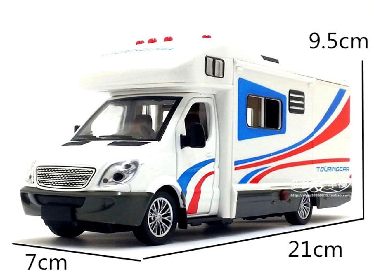 1 32 Scale Sprinter Luxury Motorhome Recreational Vehicle Rv Trailer Caravan Alloy Metal Diecast Car Model Babys Toys Collection Onshopdeals Com
