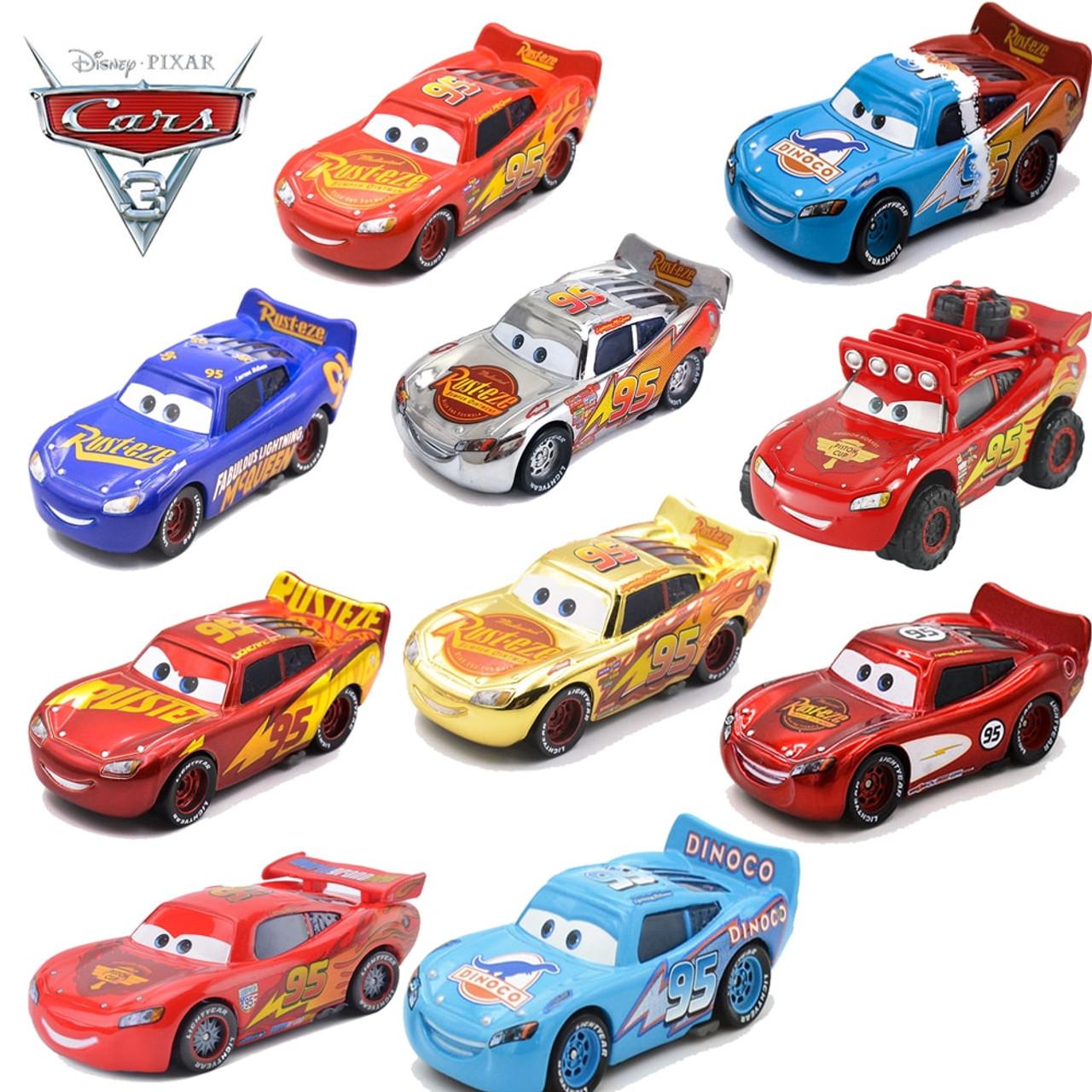 1 55 Disney Pixar Cars Metal Diecast Number 95 Lightning McQueen All Style  Golden Silver Champion Collection Version Car Boy Toy - OnshopDeals.Com a1a17d7d14b3