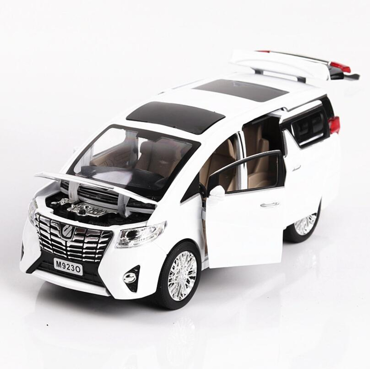 1 24 Alloy Top Vehicle Toys Car Mini Cars Model Cool: 1:24 Toy Car Excellent Quality TOYOTA Alphard With Box Car