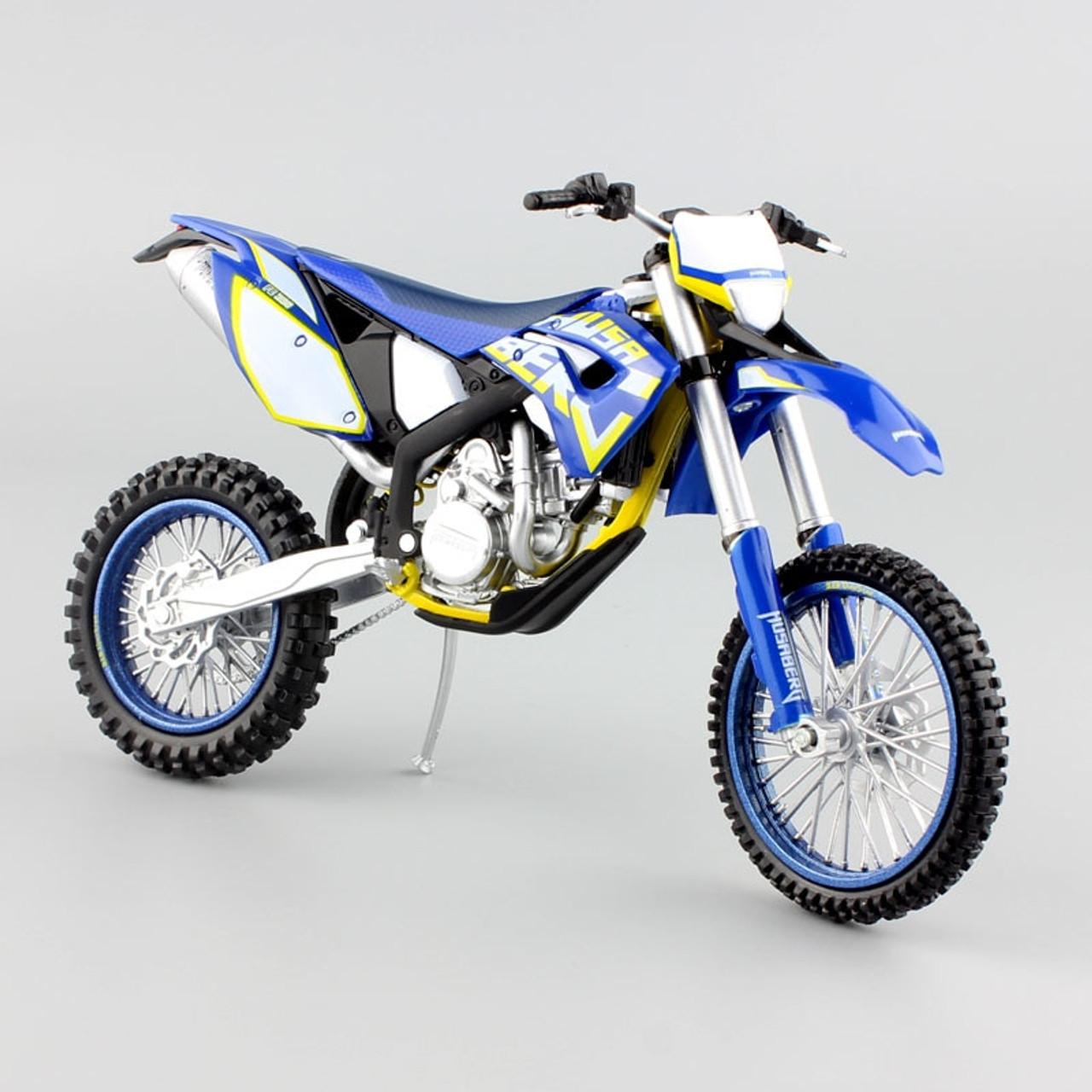 1 12 Scale Children S Ktm Husaberg Fe390 Motorcycle Motocross Dirt Bike Superbike Enduro Diecast Metal Model Race Cars For Boys Onshopdeals Com
