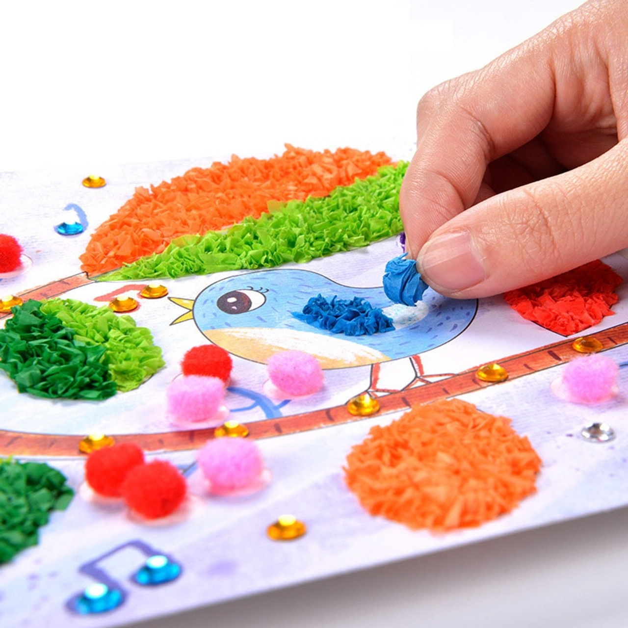 Creativity for Kids Sparkling 3-D Paint Activity Kit Educational Toys