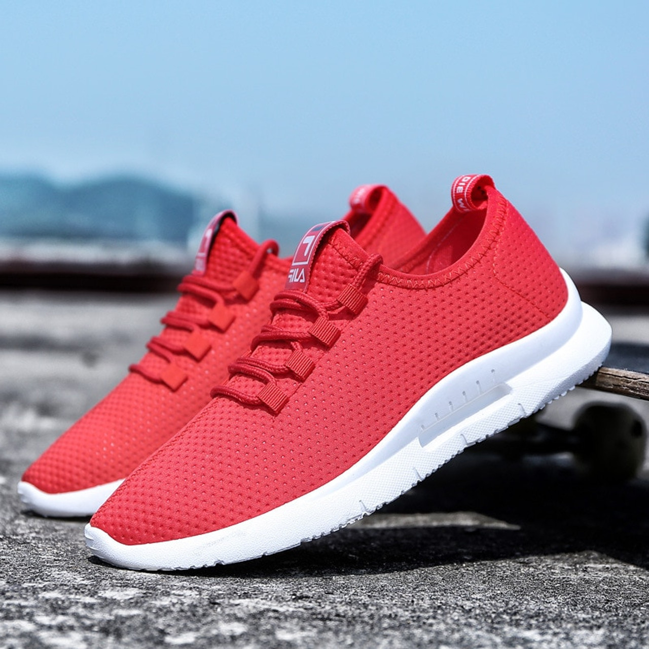 24ea1a0f58d0 ... 2018 Spring And Autumn Classic New Men S Shoes Low-Cut Casual  Flyweather Men S Fashion Low
