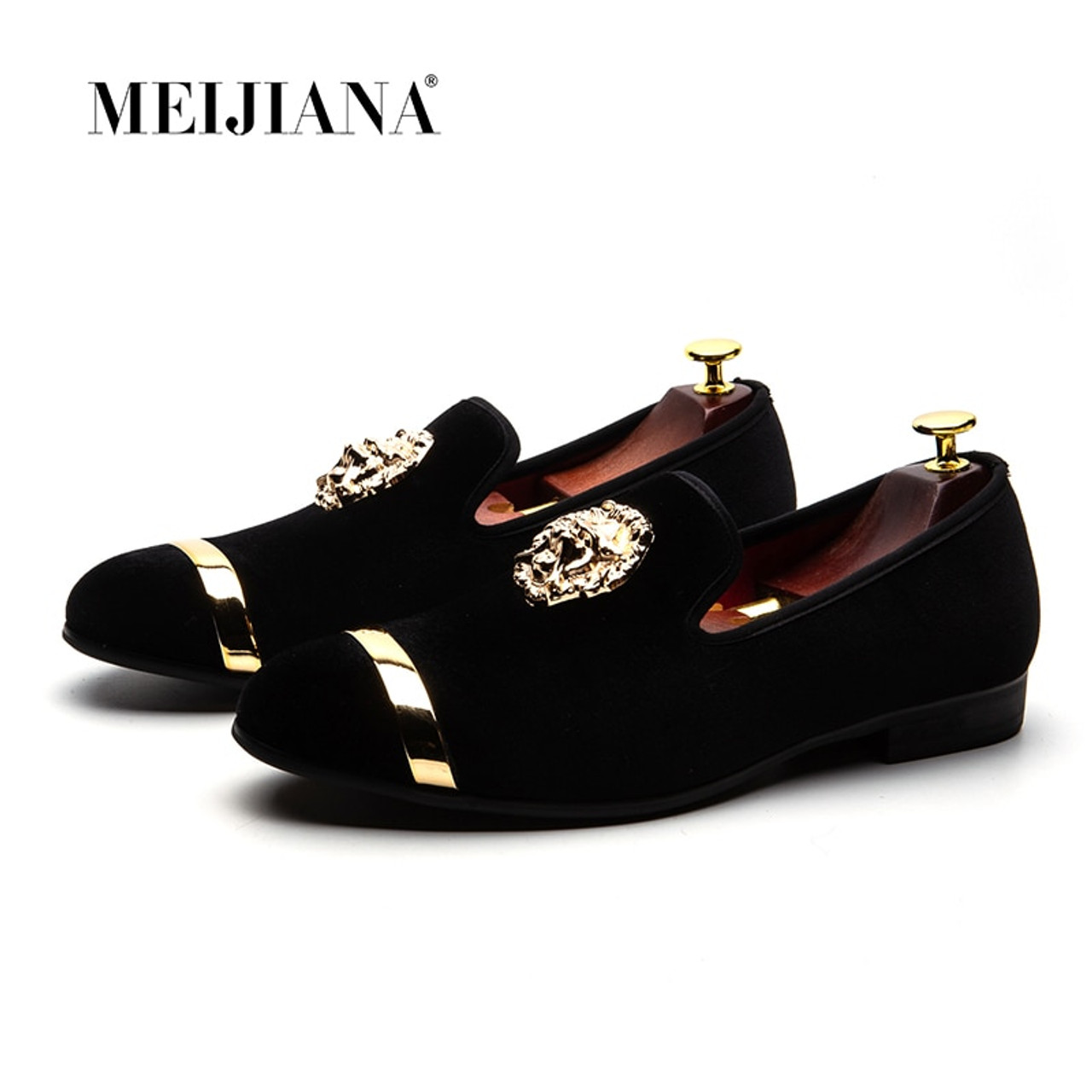 6a0e7a6b48 ... MEIJIANA 2018 New Big Size Men's Loafers Slip on Men Leather Shoes  Luxury Casual Fashion Trend ...