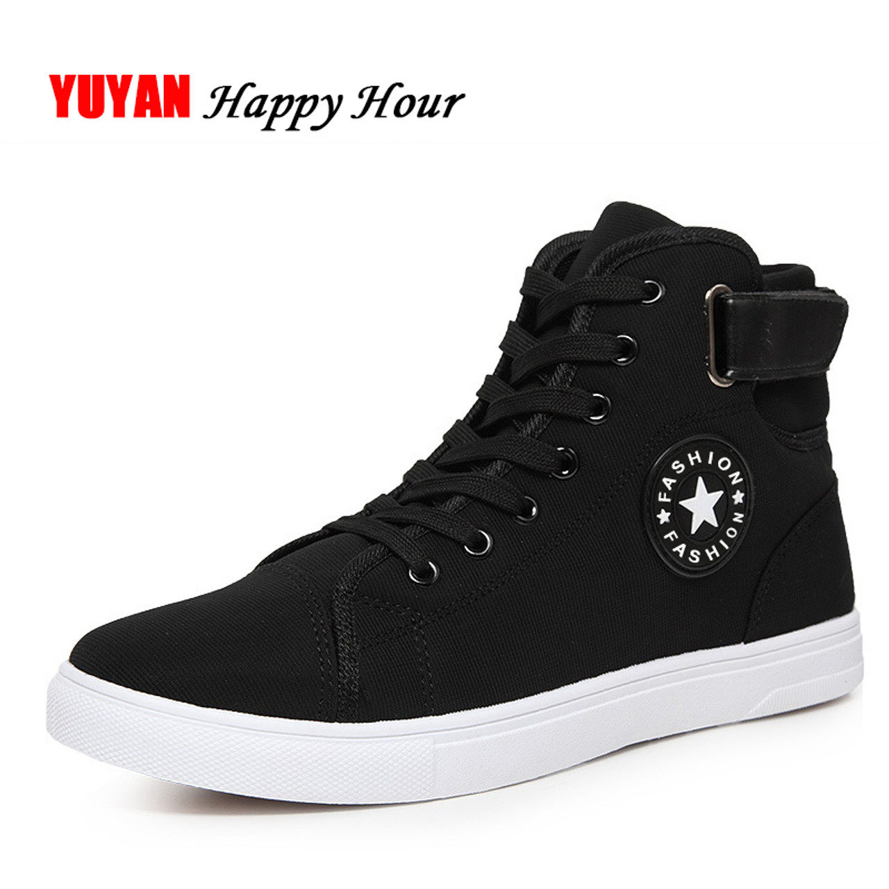 Casual Shoes Breathable Canvas Man Lace