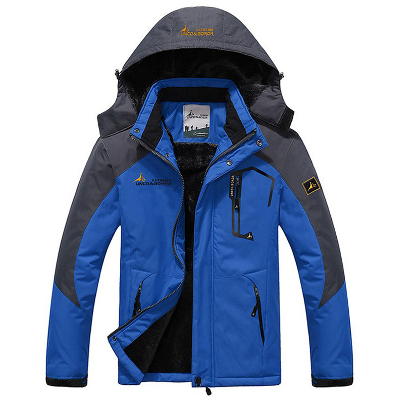 Hiking Jackets 2019 Winter Outdoor Sports Hooded Down Coat Mens Warm Jaqueta Light Weight Jacket Overcoat Male Windproof Thermal Padded Outwear