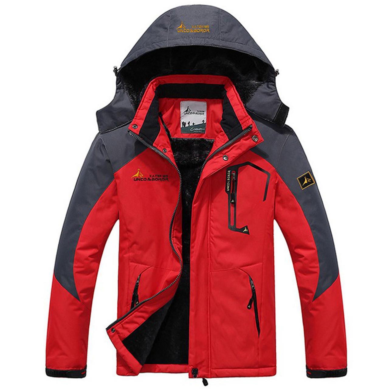 b81e2e9c980 New Winter Jacket Men Thick Velvet Warm Coat Thermal Warm Windproof Hood  Jackets Mens Outwear Parka Homme Jaqueta Casual Coats